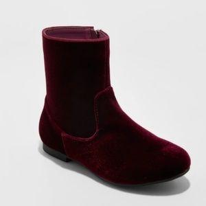 Girls' Paris Velvet Fashion Boots by Art Class